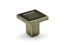 Knop Stockholm tmavý bronz