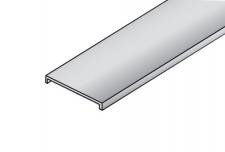 Profil S06N krycí stříbrný elox