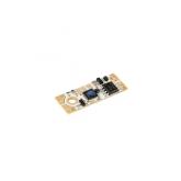 Vypínač a stmívač do LED profilu dotykový LUX C s kontrolní LED žlutou