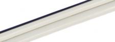 Kabel 2x0,25mm2, bílý s černou linkou, metráž (max.4A)