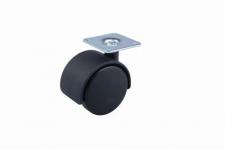 Kolečko CL45 - černé 45 mm + plotnička
