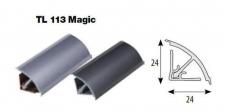 Těsnící lišta Magic 113 Hliník 4,1 m