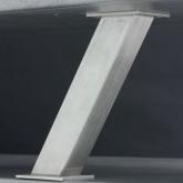 Konzola hranatá šikmá 50x50 výška 233mm
