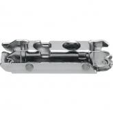 175H3100 CLIP excentr mont. podložka zvýšení 0 mm, přímá, vruty, ocel nikl