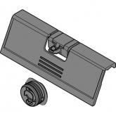 Úchyt + unašeč pro vnitřní zásuvku bílý BL ZIF.80M7