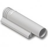 970.1201 přímý adaptér pro blumotion plast,plast RAL 7036 platin. šedá