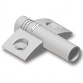 970.1501 křížový adaptér pro blumotion plast, RAL 7036 platinově šedá