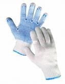 Rukavice Plover pletené s PVC terčíky