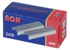 Sešívací spony RON  24/6 (2000ks)