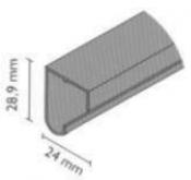 Profil K-040 jednokřídlový skříňový posuv