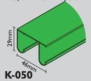 Profil K-050 dvoj. skříňový č.2