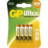 Baterie GP Ultra LR03 mikrotužková 1,5V