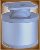Noha kruhová průměr 60 mm AL s regulací