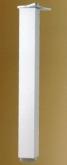 Noha stolová hranatá 710 mm s regulací
