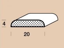 Krycí lišta napojovaná P2004 délka 2500mm