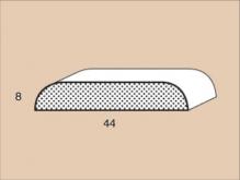 Krycí lišta napojovaná P 4408 délka 2500mm