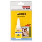 Vteřinové lepidlo Cyanofix 84A Soudal