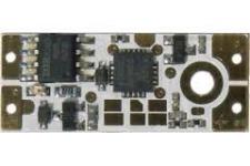 Vypínač a stmívač LED do lišt dotykový LUX C modrá10x25mm 10A
