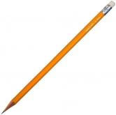 Tužka školní  č.2 HB/okrová s gumou