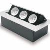 Elektrická zásuvka pro kancelářský stůl (3 zásuvky)